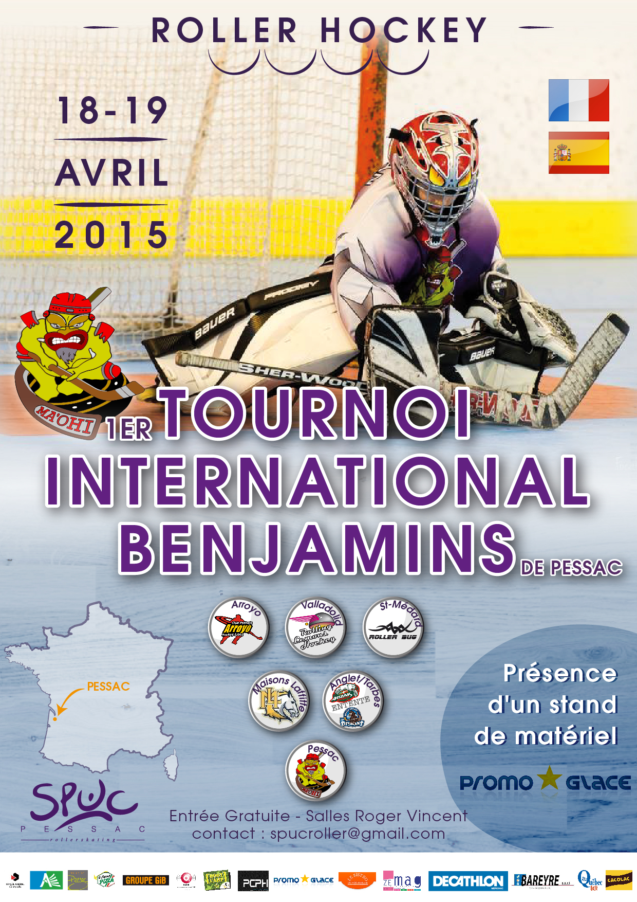 Tournoi International Benjamins de Pessac
